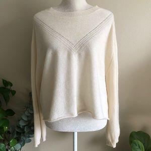 Wildfox • Cashmere Pullover Crop Sweater 378